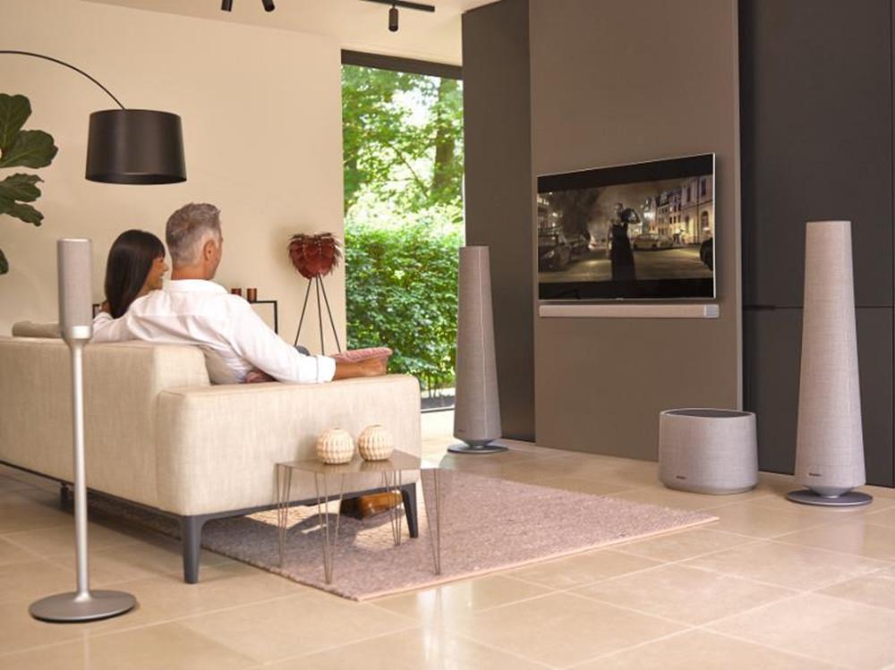 하만카돈 '사이테이션(CITATION)' 홈 오디오 제품 라이프스타일 사진