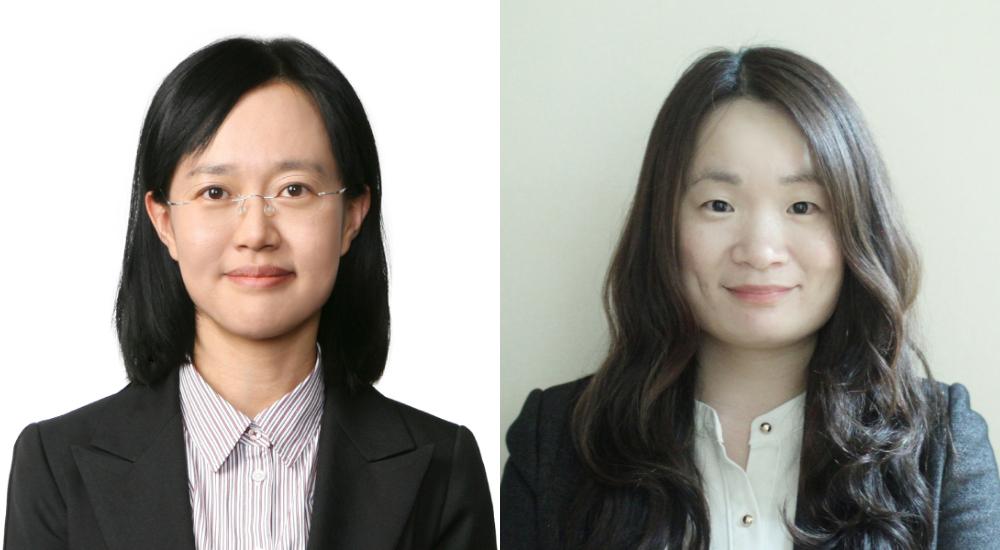 삼성전자 종합기술원 장은주 펠로우(왼쪽), 삼성전자 종합기술원 원유호 전문연구원(오른쪽)