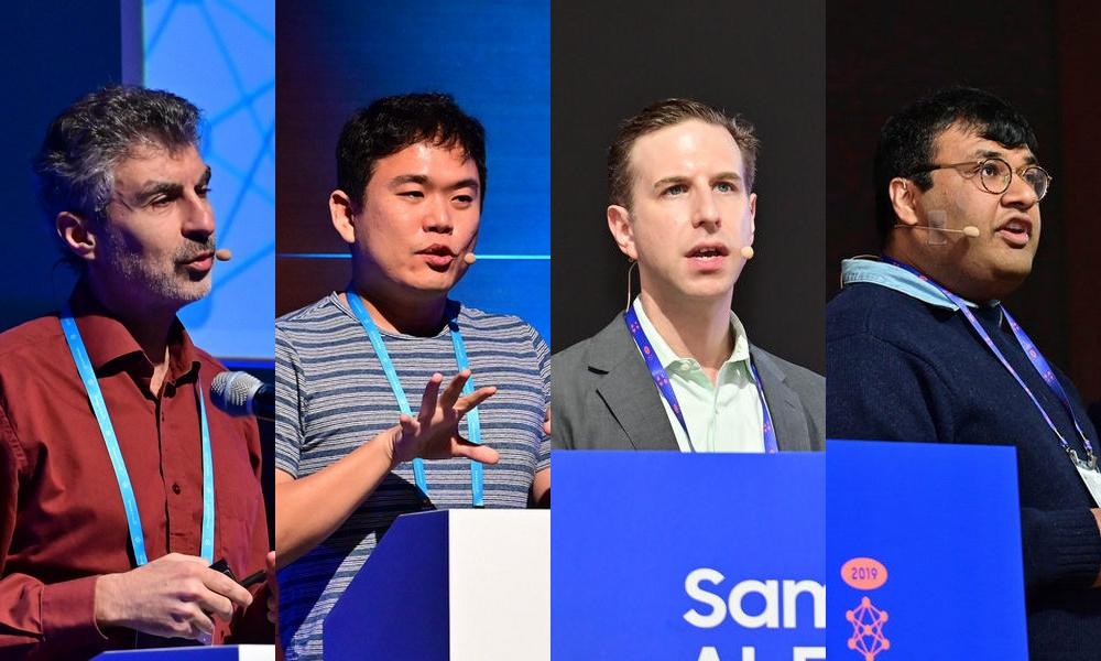 삼성 AI 포럼 2019 주요 인사 4인
