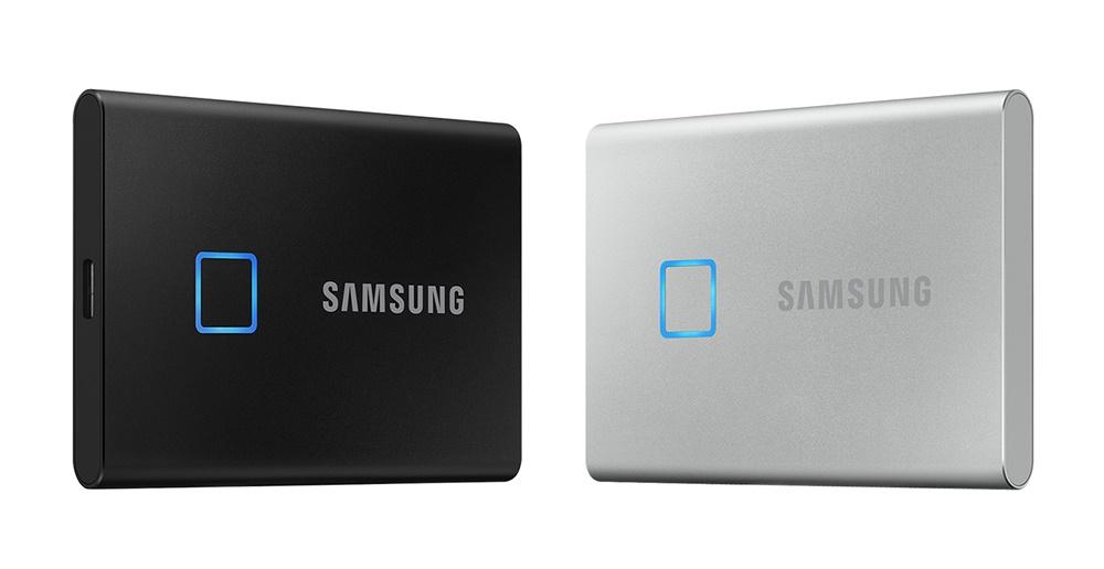 삼성전자 포터블 SSD 'T7 Touch'