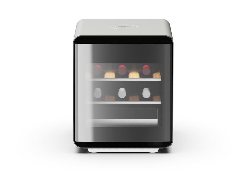 삼성전자 신규 라이프스타일 가전 '와인큐브' 냉장고