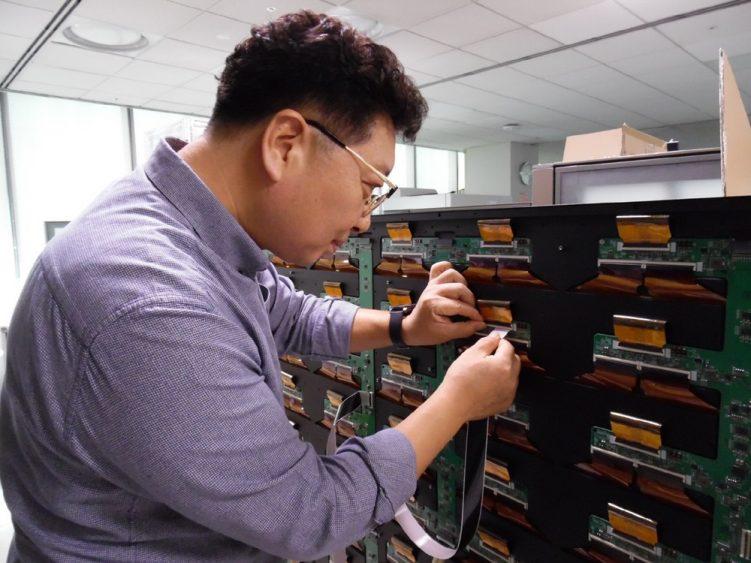 ▲ 삼성전자 제조기술 부문 문영준 명장