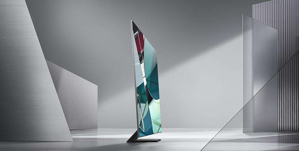 2020년형 QLED 8K 신제품 'Q950TS' 제품 사진