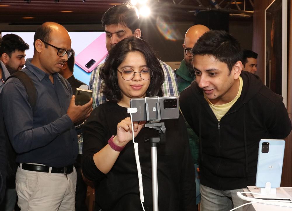 삼성 갤럭시 S20 런칭 행사_2월 24일 인도 (2)