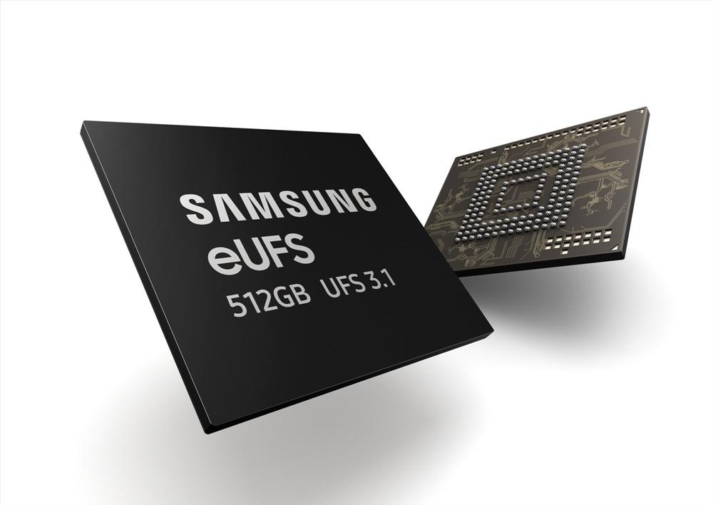 SAMSUNG eUFS 512GB UFS 3.1