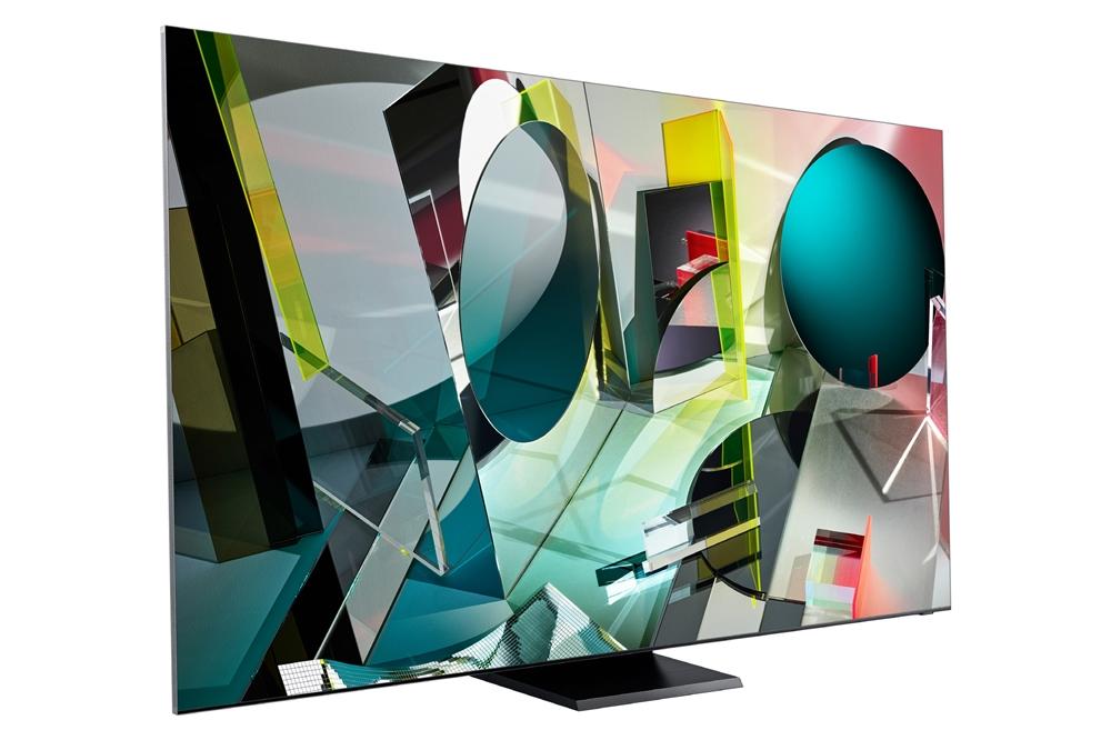 2020년형 삼성 QLED 8K 인피니티 스크린 제품 사진