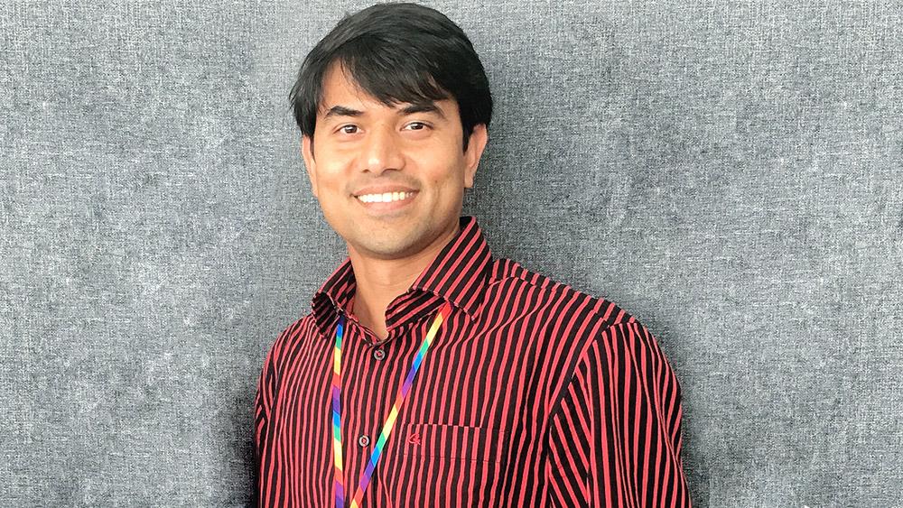 삼성리서치아메리카 (SRA) 디지털 헬스 랩 소속 마부버 라만(Mahbubur Rahman) 연구원