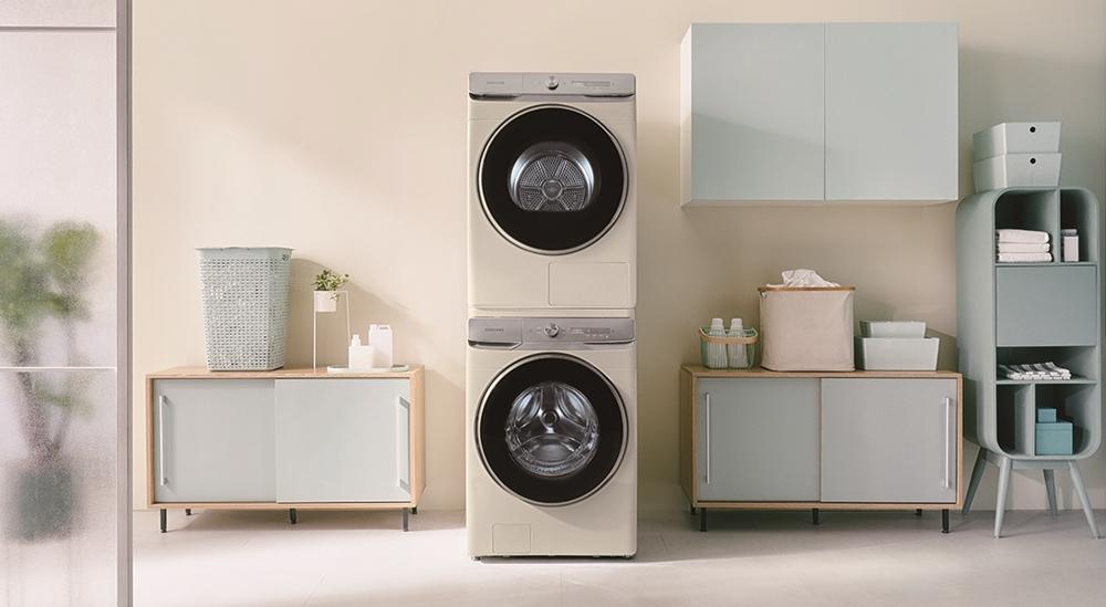 삼성 그랑데 AI 건조기·세탁기 라이프스타일 이미지