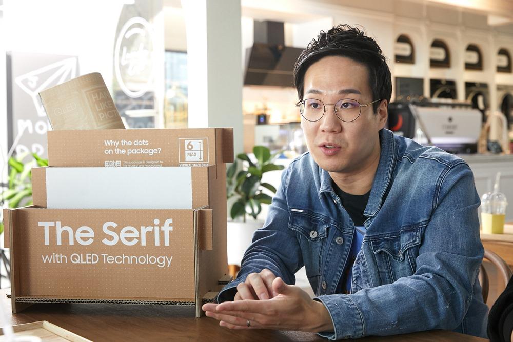 에코 패키지 개발을 담당한 Future Experience(FX)디자인그룹 손성도 씨
