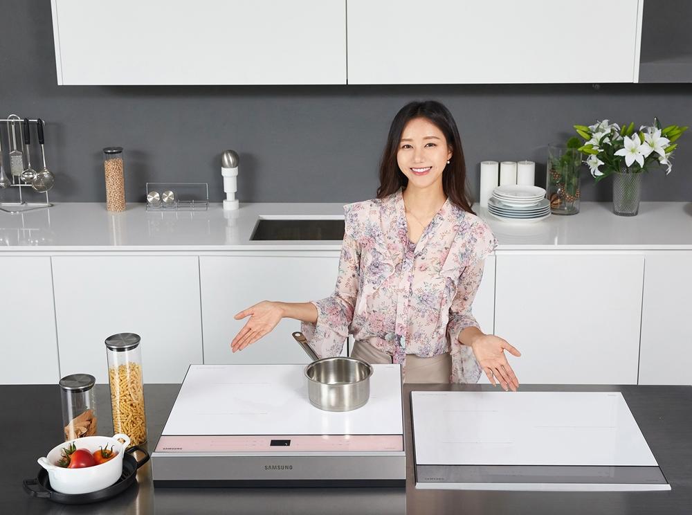 삼성전자, 비스포크 색상 입은 '올 인덕션' 신제품 출시(1)