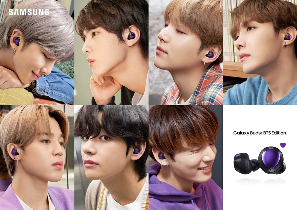 SAMSUNG Galaxy Buds+ BTS Edition