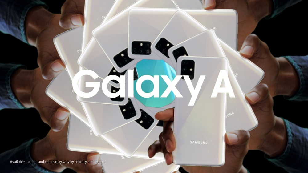 Galaxy A SAMSUNG Available models and colors may vary by country and region