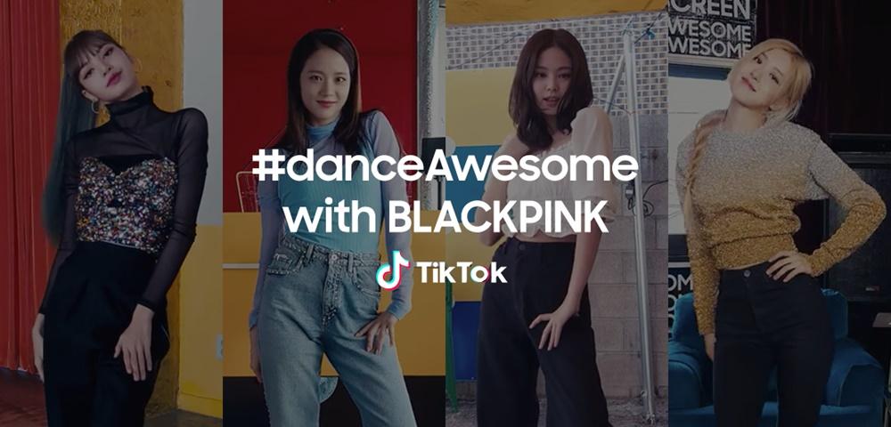#danceAwesome with BLACKPINK TikTok