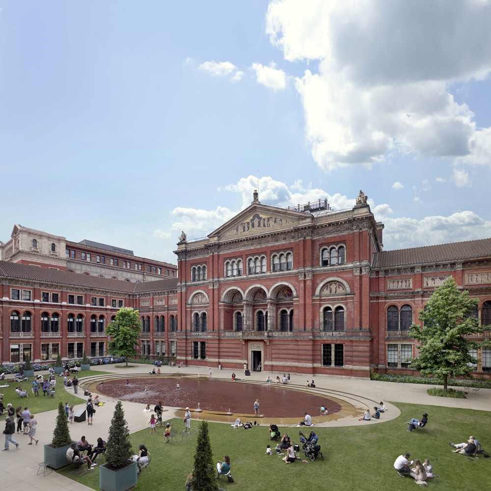 런던의 빅토리아 앤드 앨버트 뮤지엄(Victoria and Albert Museum, V&A)