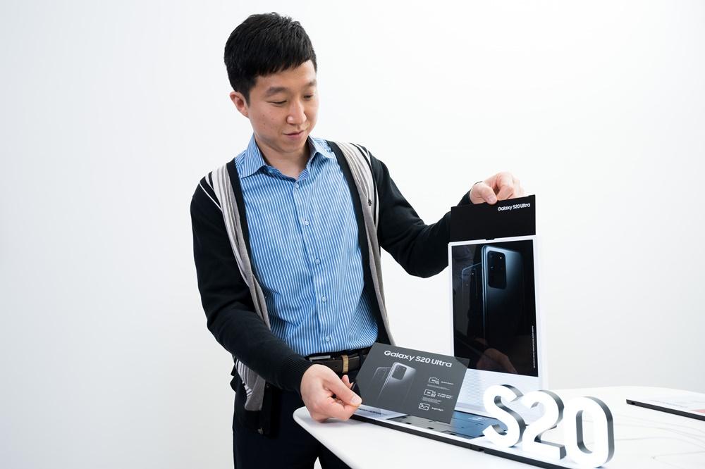 ▲ 허령 씨가 모듈형 VMD 키트에 대해 설명하고 있다.
