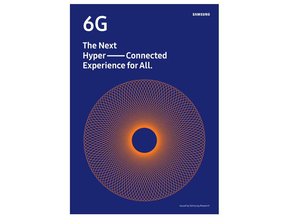 삼성전자가 발간한 '6G 백서' 표지