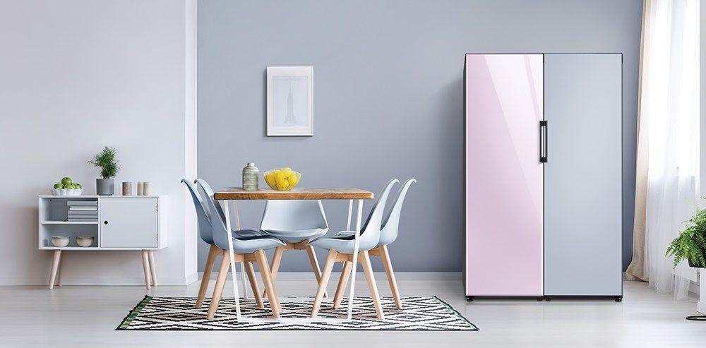 삼성 유럽향 비스포크 냉장고 라이프스타일 사진