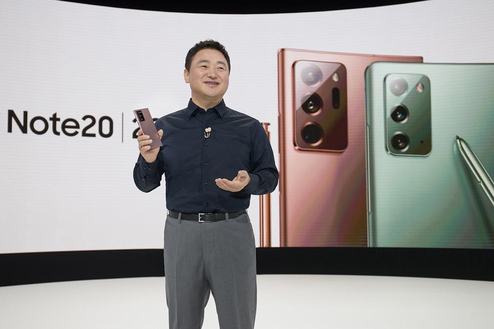 삼성 갤럭시 언팩 2020_무선사업부장 노태문 사장 (2)