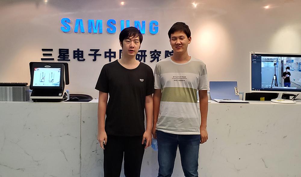 ▲IWSLT 경진대회에 참가한 북경연구소(Samsung R&D Institute China-Beijing) 팀