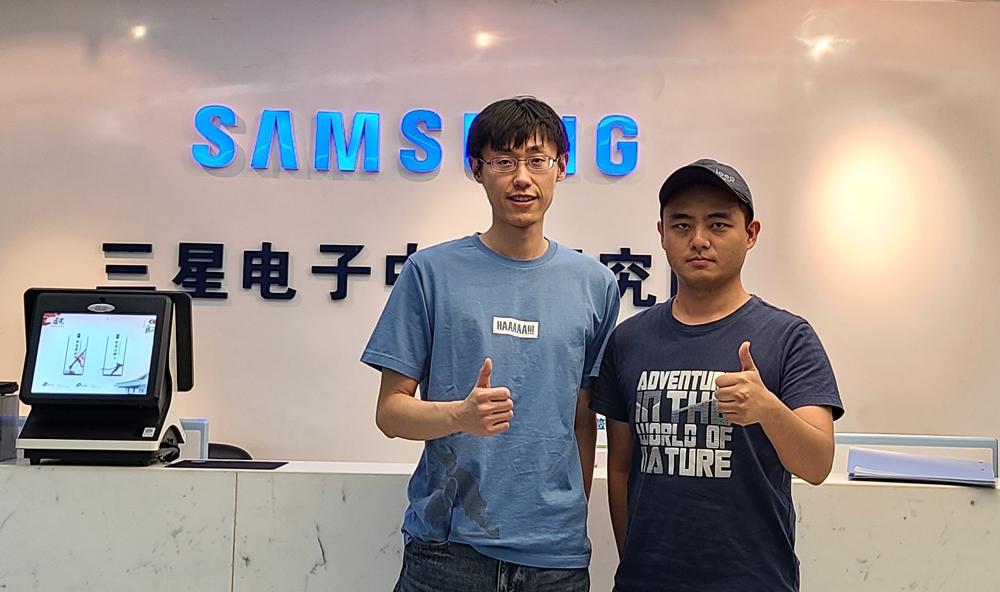 ▲CVPR 경진대회에 참가한 북경연구소(Samsung R&D Institute China-Beijing) 팀들