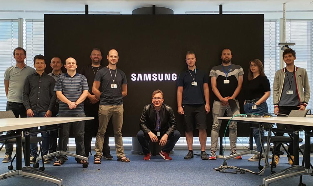 ▲ DCASE 경진대회에 참가한 폴란드 연구소 (Samsung R&D Institute Poland) 팀