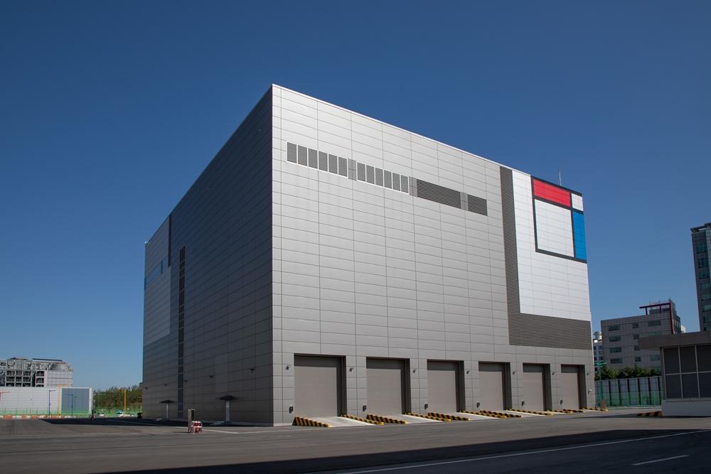 삼성전자 화성캠퍼스에 위치한 그린센터.전경