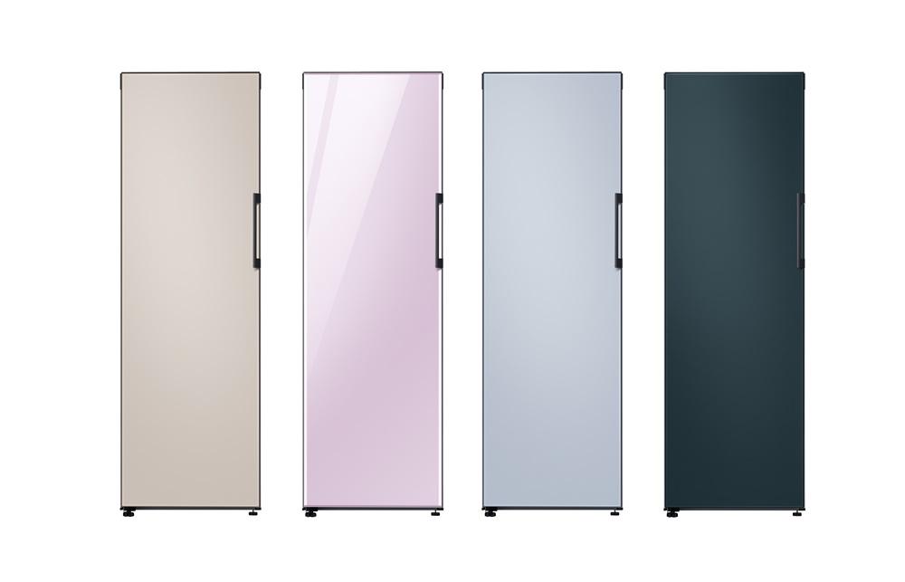 버추얼 프레스 콘퍼런스에서 소개된 주요 제품 이미지(비스포크 냉장고)