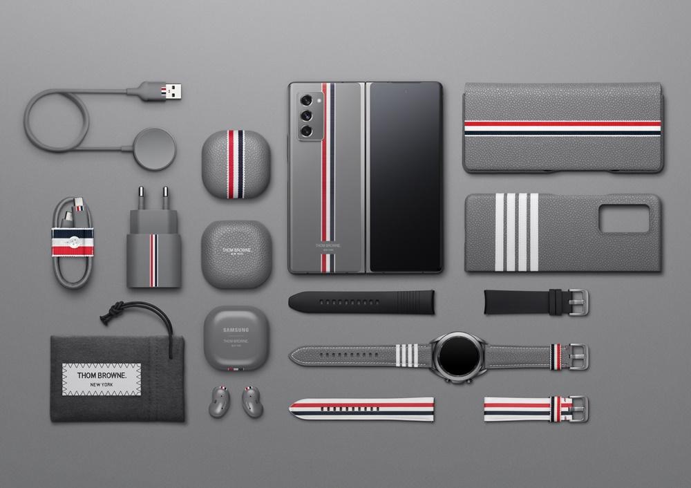 '갤럭시 Z 폴드2 톰브라운 에디션' 패키지 이미지