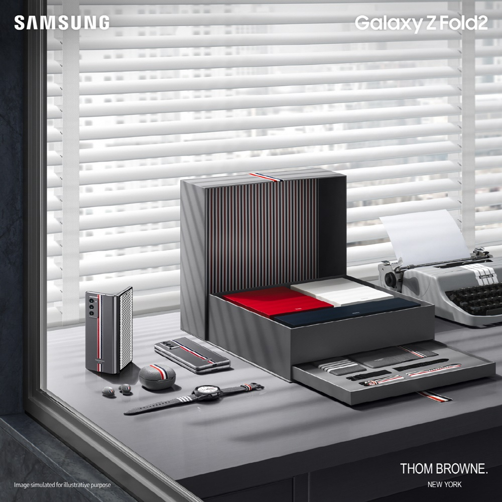 SAMSUNG Galaxy Z Fold2 THOM BROWNE NEW YORK