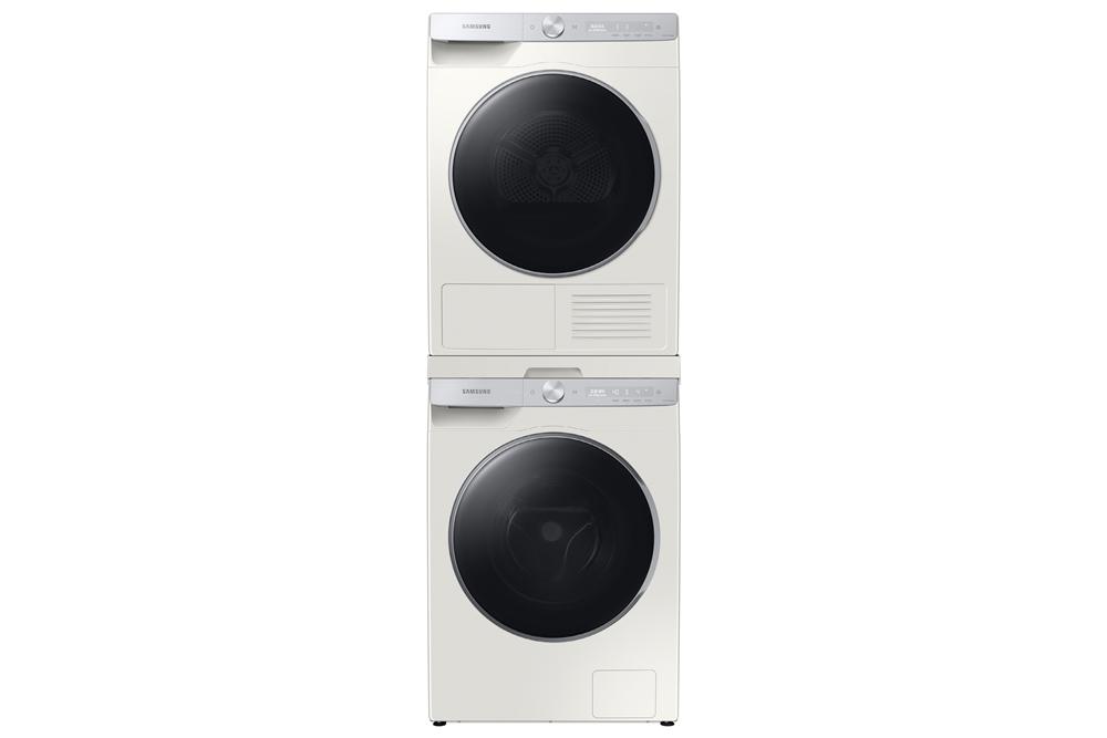 '그랑데 AI' 10kg 세탁기(아래)·9kg 건조기(위) 신제품 사진