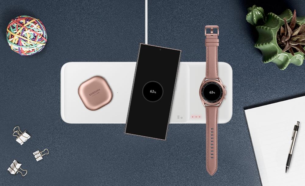 삼성 무선 충전 트리오 제품 이미지