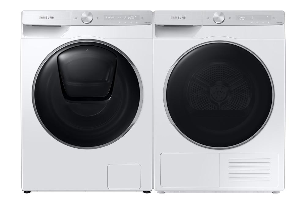 버추얼 프레스 콘퍼런스에서 소개된 주요 제품 이미지(세탁기와 건조기)