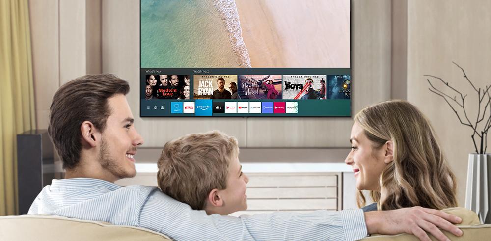 ▲ 삼성 스마트TV 사용자인터페이스(UI) '스마트허브(Smart Hub)'