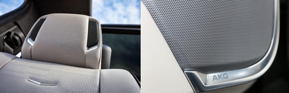 ▲ GM 캐딜락 에스컬레이드에 탑재된 AKG (사진 제공: 캐딜락)
