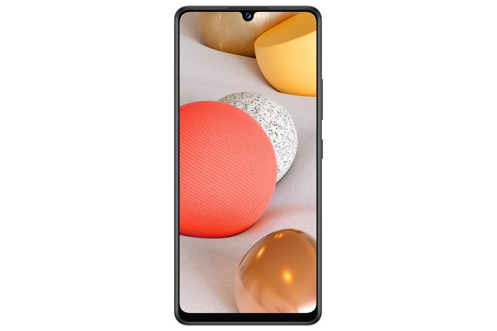 버추얼 프레스 콘퍼런스에서 소개된 주요 제품 이미지(GalaxyA42 5G Black)