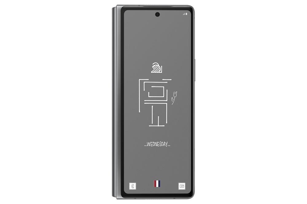 갤럭시 Z 폴드2 톰브라운 에디션 기기 작동 화면