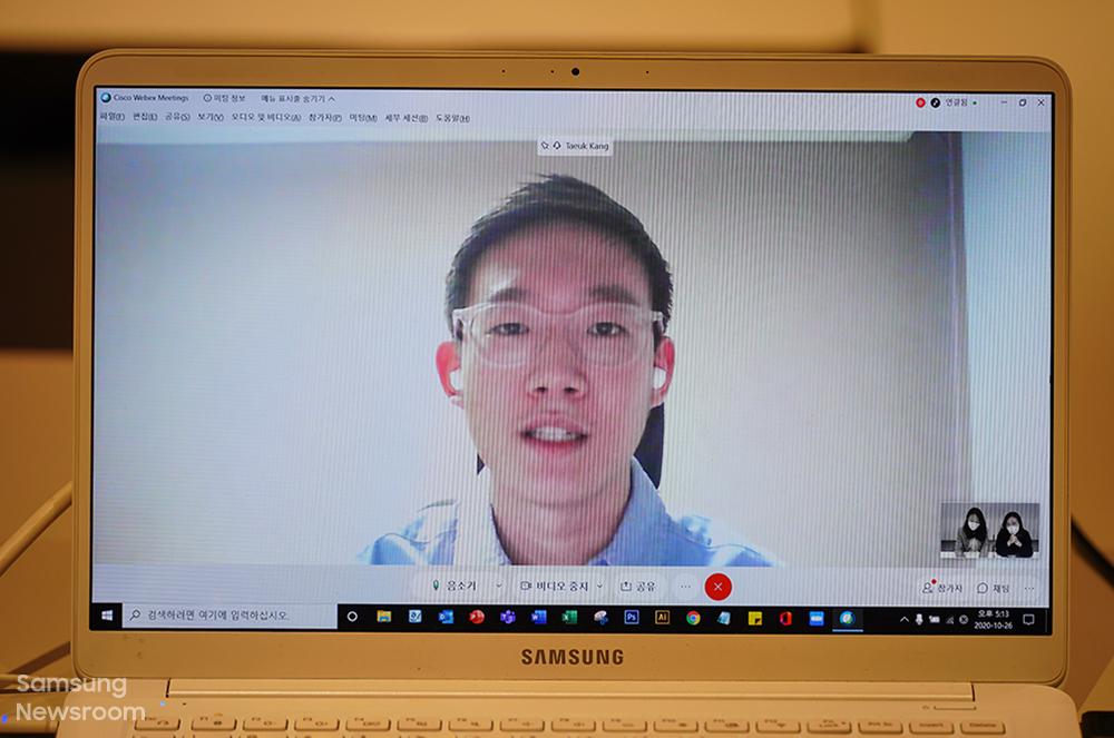2017년 주소창 중등부 장려상을 수상한 강태욱 씨