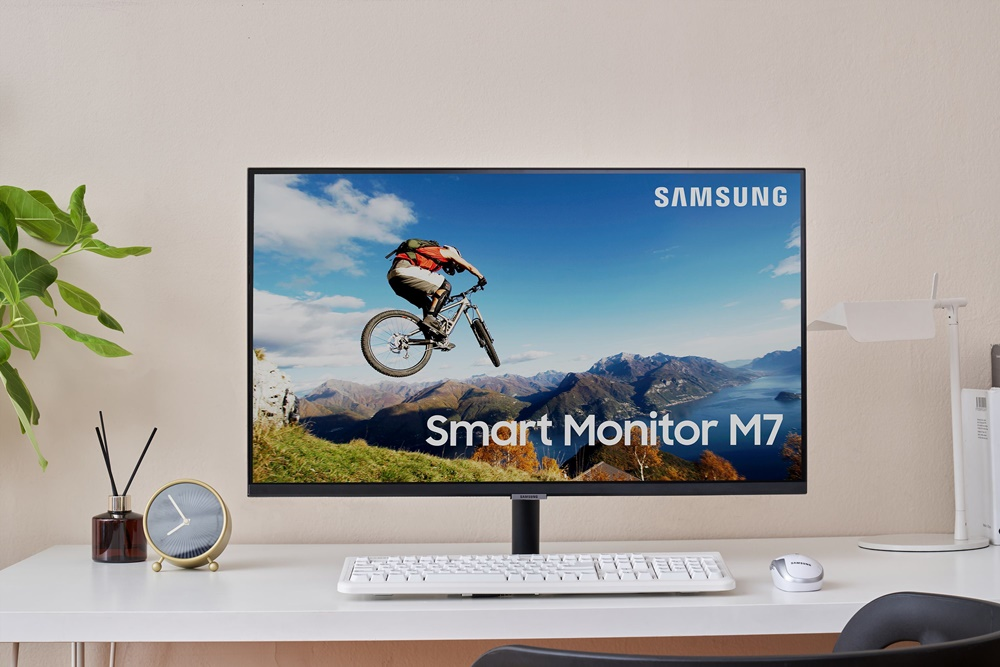 삼성전자 스마트 모니터 제품 이미지(모델명 : S32AM70)