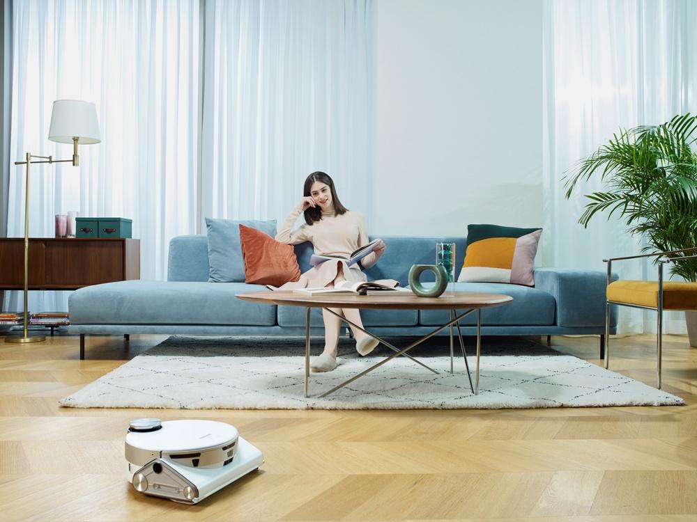 삼성 로봇청소기 '제트봇 AI(JetBot AI)' 신제품 라이프스타일 이미지
