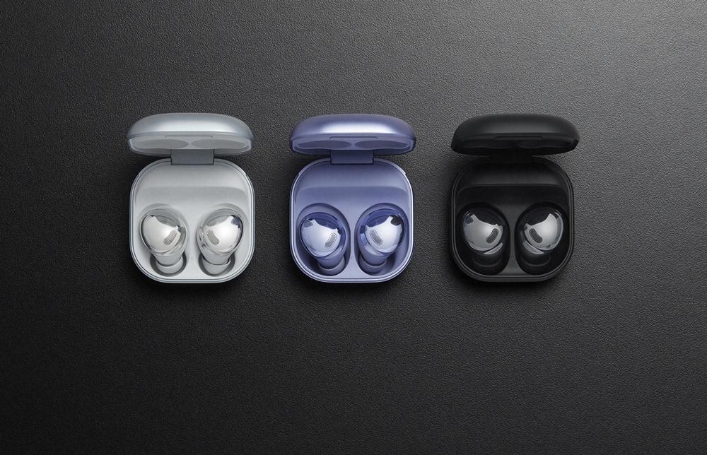 삼성 '갤럭시 버즈 프로' 3종 제품 이미지