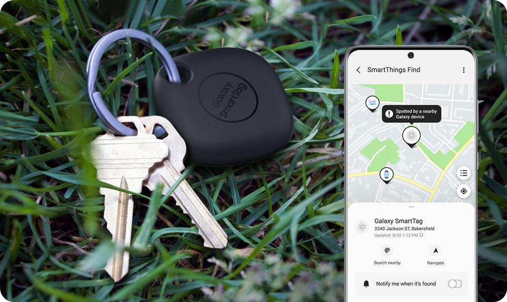 삼성 '갤럭시 스마트태그(Galaxy SmartTag)' 제품 사용 사례 이미지