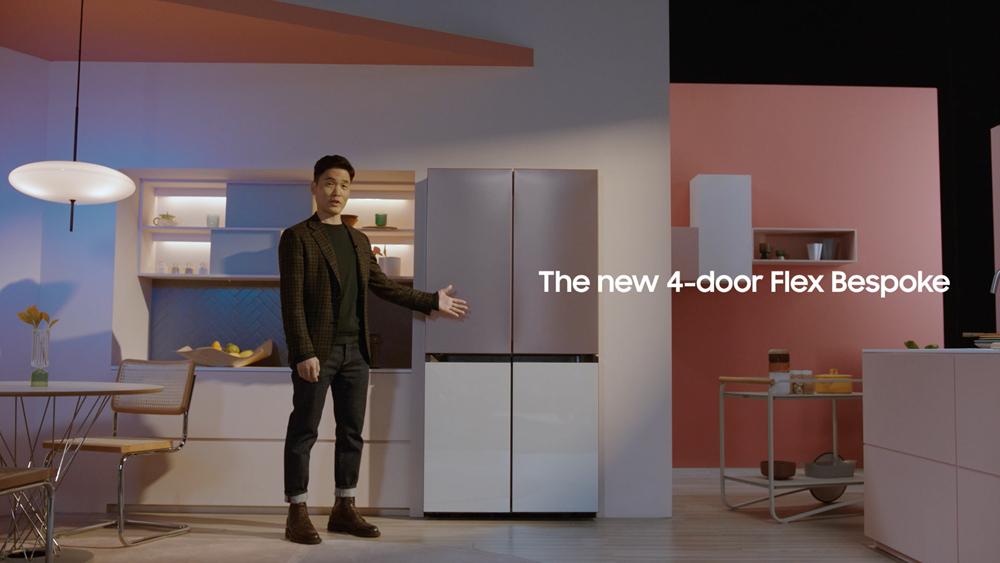 프레스 컨퍼런스 현장 - the new 4door flex bespoke