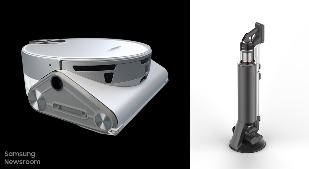 로봇 청소기 제트봇 AI와 무선 청소기 제트