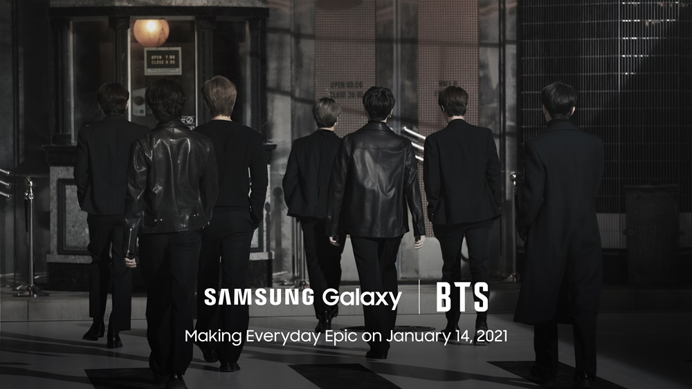 SAMSUNG Galaxy / BTS Making Everyday Epic on January 14, 2021 (BTS 뒷모습)