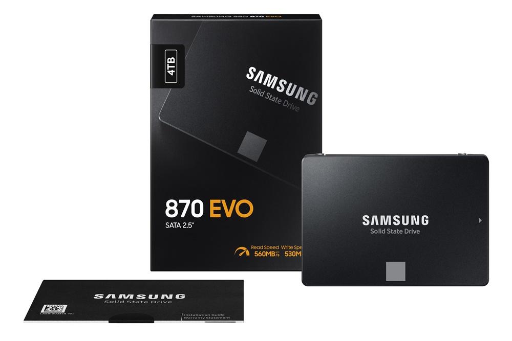 SAMSUNG Solid State Drive 870 EVO 패키지
