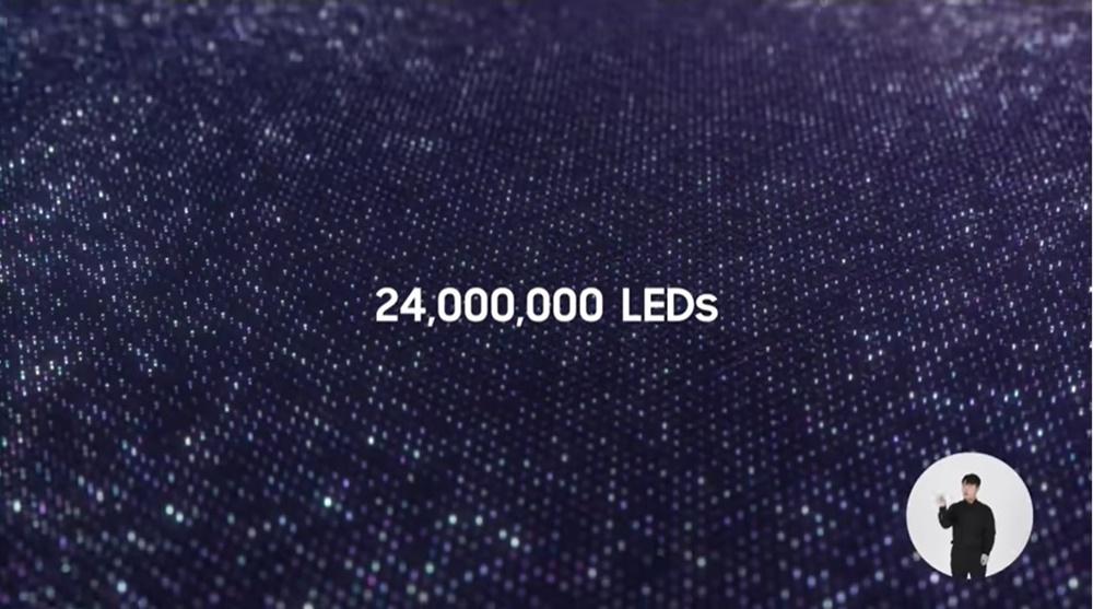 24,000,000 LEDs