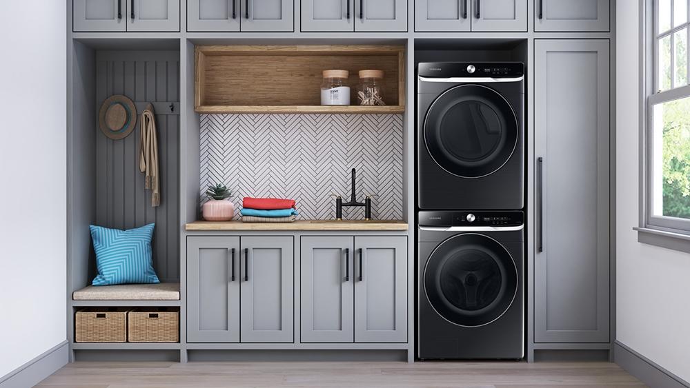 삼성 미국향 세탁기·건조기 신제품 라이프 스타일 사진