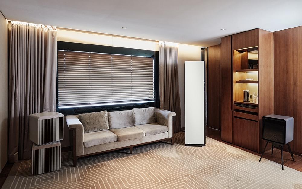 서울신라호텔 'Experience room with 에어드레서'의 전경