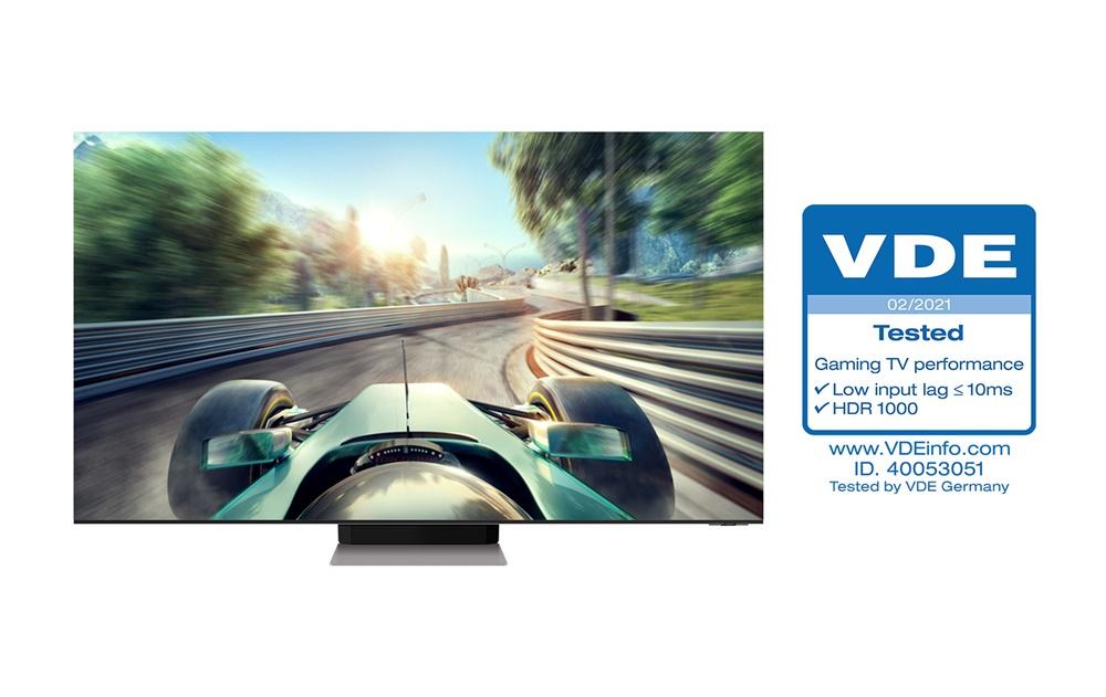 삼성 'Neo QLED' , TV 업계 최초 독일 VDE 'Gaming TV Performance' 인증 획득(1)