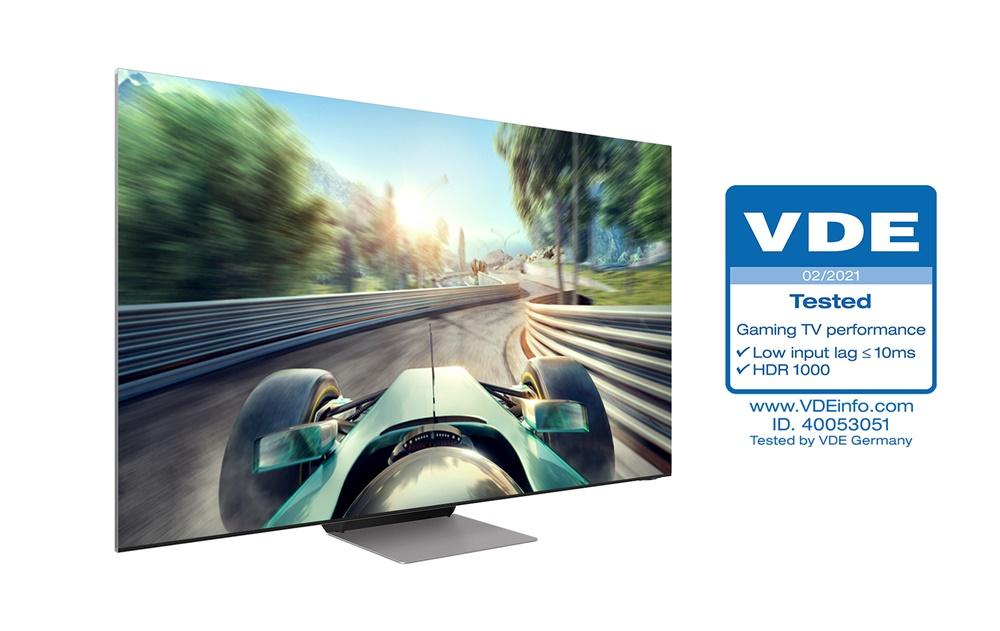 삼성 'Neo QLED' , TV 업계 최초 독일 VDE 'Gaming TV Performance' 인증 획득(2)